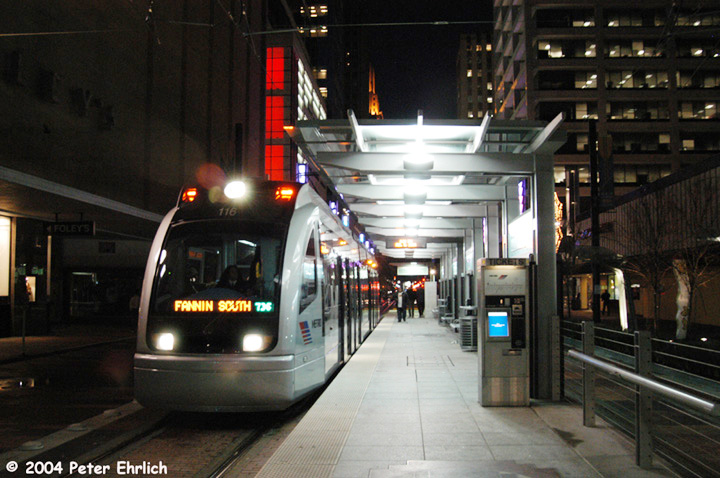 (145k, 720x478)<br><b>Country:</b> United States<br><b>City:</b> Houston, TX<br><b>System:</b> Houston METRORail<br><b>Location:</b> Main Street Square <br><b>Car:</b> Siemens Avanto 116 <br><b>Photo by:</b> Peter Ehrlich<br><b>Date:</b> 2/5/2004<br><b>Viewed (this week/total):</b> 1 / 5116