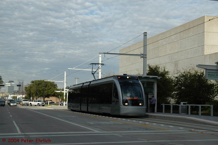 (107k, 720x478)<br><b>Country:</b> United States<br><b>City:</b> Houston, TX<br><b>System:</b> Houston METRORail<br><b>Location:</b> Fannin bet. Binz & Ewing <br><b>Car:</b> Siemens Avanto 116 <br><b>Photo by:</b> Peter Ehrlich<br><b>Date:</b> 2/5/2004<br><b>Viewed (this week/total):</b> 2 / 3394