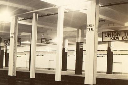 (33k, 408x272)<br><b>Country:</b> United States<br><b>City:</b> New York<br><b>System:</b> New York City Transit<br><b>Line:</b> IND Queens Boulevard Line<br><b>Location:</b> Union Turnpike/Kew Gardens <br><b>Photo by:</b> Cameron A. Reed, Engineer of Line Equipment<br><b>Date:</b> 12/29/1936<br><b>Viewed (this week/total):</b> 3 / 7012