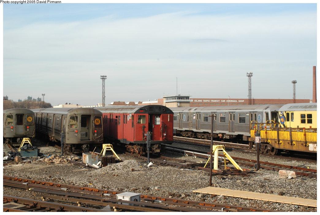 (203k, 1044x701)<br><b>Country:</b> United States<br><b>City:</b> New York<br><b>System:</b> New York City Transit<br><b>Location:</b> Coney Island Yard<br><b>Car:</b> R-30 (St. Louis, 1961) 8289 <br><b>Photo by:</b> David Pirmann<br><b>Date:</b> 2/29/2004<br><b>Viewed (this week/total):</b> 4 / 5602