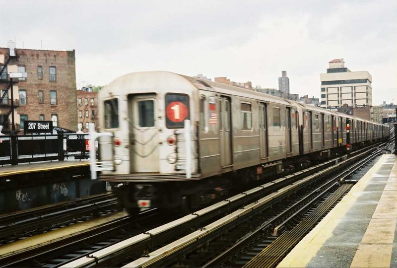 (67k, 800x540)<br><b>Country:</b> United States<br><b>City:</b> New York<br><b>System:</b> New York City Transit<br><b>Line:</b> IRT West Side Line<br><b>Location:</b> 207th Street <br><b>Route:</b> 1<br><b>Car:</b> R-62A (Bombardier, 1984-1987)  2251 <br><b>Photo by:</b> Gary Chatterton<br><b>Date:</b> 5/1/2005<br><b>Viewed (this week/total):</b> 5 / 3210