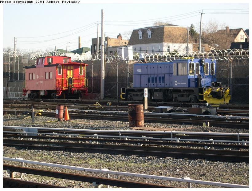 (145k, 820x620)<br><b>Country:</b> United States<br><b>City:</b> New York<br><b>System:</b> New York City Transit<br><b>Line:</b> SIRT<br><b>Location:</b> Clifton Yard/Shops <br><b>Car:</b> R-41 Locomotive  58 <br><b>Photo by:</b> Robert Rovinsky<br><b>Date:</b> 4/15/2004<br><b>Viewed (this week/total):</b> 0 / 18763