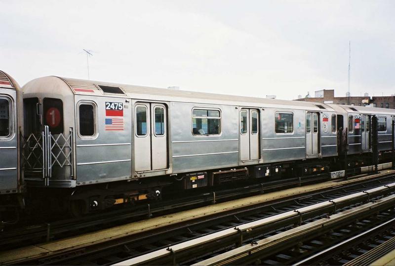 (59k, 800x540)<br><b>Country:</b> United States<br><b>City:</b> New York<br><b>System:</b> New York City Transit<br><b>Line:</b> IRT West Side Line<br><b>Location:</b> 207th Street <br><b>Route:</b> 1<br><b>Car:</b> R-62A (Bombardier, 1984-1987)  2475 <br><b>Photo by:</b> Gary Chatterton<br><b>Date:</b> 5/1/2005<br><b>Viewed (this week/total):</b> 0 / 5252