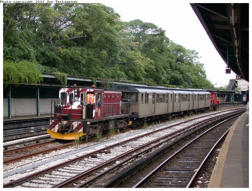 (150k, 820x620)<br><b>Country:</b> United States<br><b>City:</b> New York<br><b>System:</b> New York City Transit<br><b>Line:</b> BMT Sea Beach Line<br><b>Location:</b> 8th Avenue <br><b>Route:</b> Fan Trip<br><b>Car:</b> R-47 (SBK) Locomotive  N1 <br><b>Photo by:</b> Joe Testagrose<br><b>Date:</b> 9/28/2003<br><b>Viewed (this week/total):</b> 1 / 4452