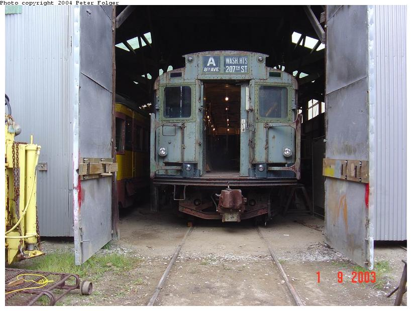 (93k, 820x620)<br><b>Country:</b> United States<br><b>City:</b> Kennebunk, ME<br><b>System:</b> Seashore Trolley Museum <br><b>Car:</b> R-4 (American Car & Foundry, 1932-1933) 800 <br><b>Photo by:</b> Peter Folger<br><b>Date:</b> 9/1/2003<br><b>Viewed (this week/total):</b> 0 / 2795