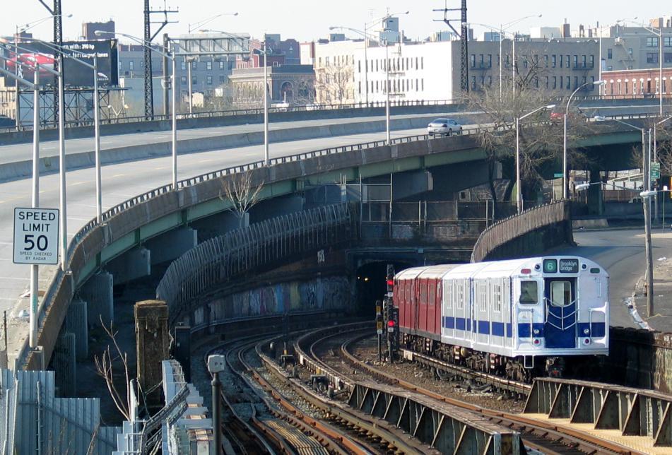 (119k, 951x644)<br><b>Country:</b> United States<br><b>City:</b> New York<br><b>System:</b> New York City Transit<br><b>Line:</b> IRT Pelham Line<br><b>Location:</b> Whitlock Avenue <br><b>Route:</b> Fan Trip<br><b>Car:</b> R-33 Main Line (St. Louis, 1962-63) 9010 <br><b>Photo by:</b> David of Broadway<br><b>Date:</b> 4/18/2004<br><b>Viewed (this week/total):</b> 2 / 5526