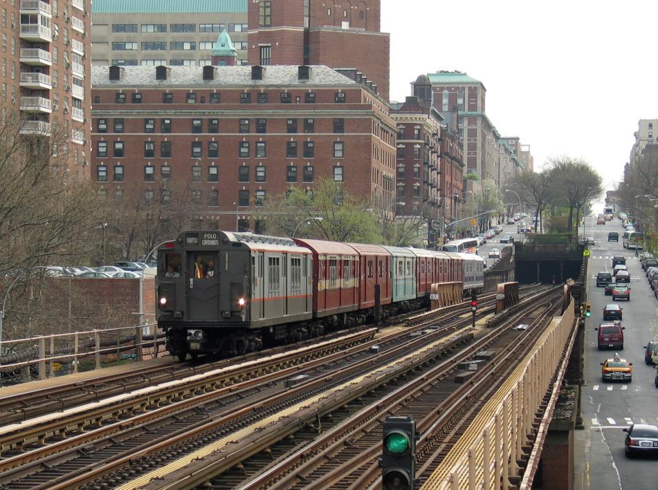 (134k, 951x709)<br><b>Country:</b> United States<br><b>City:</b> New York<br><b>System:</b> New York City Transit<br><b>Line:</b> IRT West Side Line<br><b>Location:</b> 125th Street <br><b>Route:</b> Fan Trip<br><b>Car:</b> R-12 (American Car & Foundry, 1948) 5760 <br><b>Photo by:</b> David of Broadway<br><b>Date:</b> 4/18/2004<br><b>Viewed (this week/total):</b> 0 / 3648