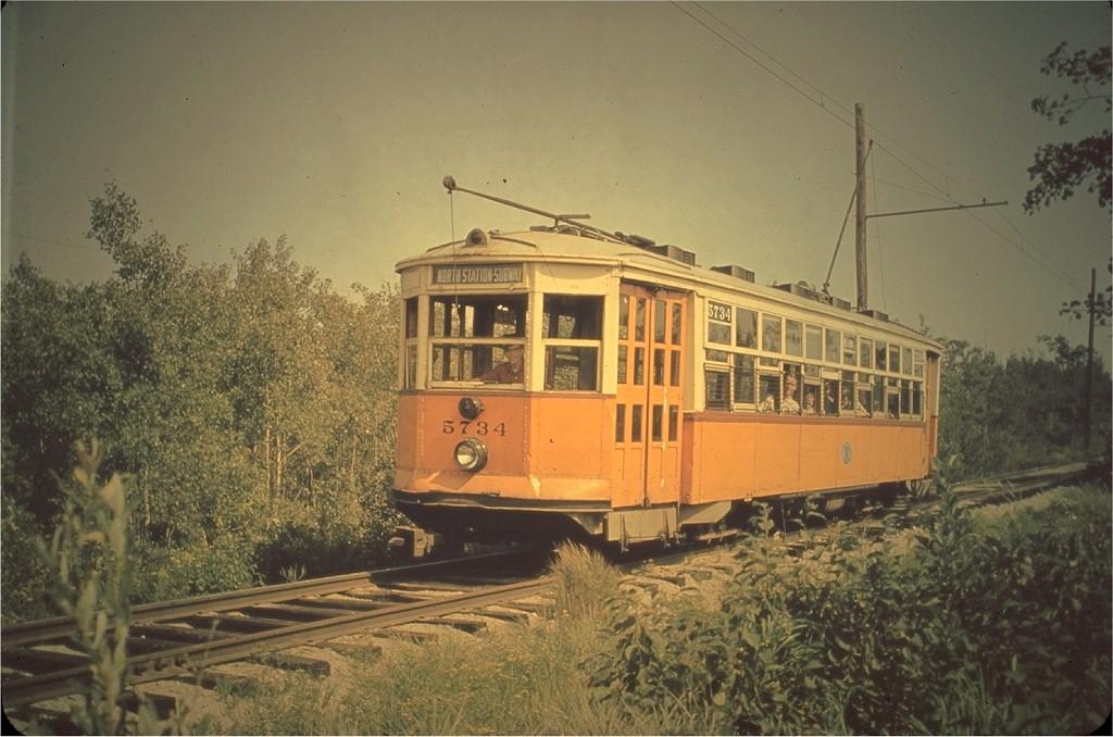 (189k, 1024x678)<br><b>Country:</b> United States<br><b>City:</b> Kennebunk, ME<br><b>System:</b> Seashore Trolley Museum <br><b>Car:</b> MBTA 5734 <br><b>Photo by:</b> Hal Greenwald<br><b>Collection of:</b> Joe Testagrose<br><b>Viewed (this week/total):</b> 1 / 1449