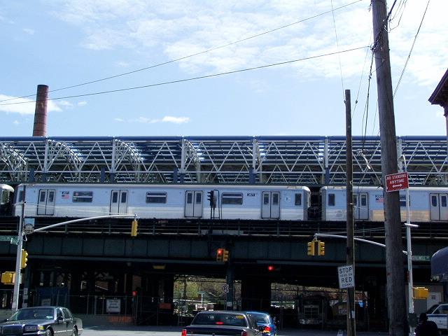 (127k, 640x480)<br><b>Country:</b> United States<br><b>City:</b> New York<br><b>System:</b> New York City Transit<br><b>Location:</b> Coney Island/Stillwell Avenue<br><b>Photo by:</b> Irwin Markowitz<br><b>Date:</b> 4/25/2004<br><b>Viewed (this week/total):</b> 0 / 3415
