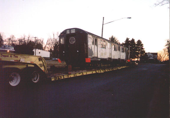 (28k, 575x399)<br><b>Country:</b> United States<br><b>City:</b> New York<br><b>System:</b> New York City Transit<br><b>Location:</b> Walkill, NY enroute to TMNY<br><b>Car:</b> R-16 (American Car & Foundry, 1955) 6398 <br><b>Photo by:</b> Harold Greenblatt<br><b>Viewed (this week/total):</b> 4 / 6749