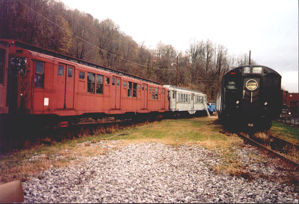 (58k, 585x399)<br><b>Country:</b> United States<br><b>City:</b> Kingston, NY<br><b>System:</b> Trolley Museum of New York <br><b>Car:</b> R-16 (American Car & Foundry, 1955) 6398 <br><b>Photo by:</b> Harold Greenblatt<br><b>Viewed (this week/total):</b> 4 / 9423