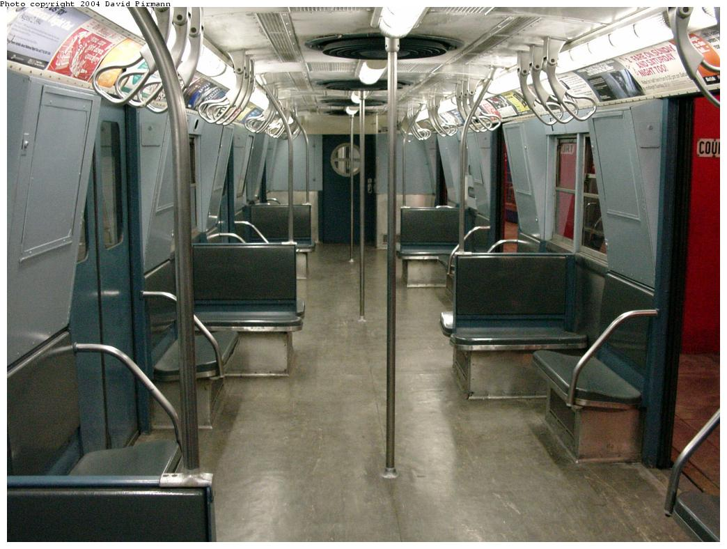 (132k, 1044x788)<br><b>Country:</b> United States<br><b>City:</b> New York<br><b>System:</b> New York City Transit<br><b>Location:</b> New York Transit Museum<br><b>Car:</b> R-16 (American Car & Foundry, 1955) 6387 <br><b>Photo by:</b> David Pirmann<br><b>Date:</b> 3/12/2000<br><b>Viewed (this week/total):</b> 6 / 18825