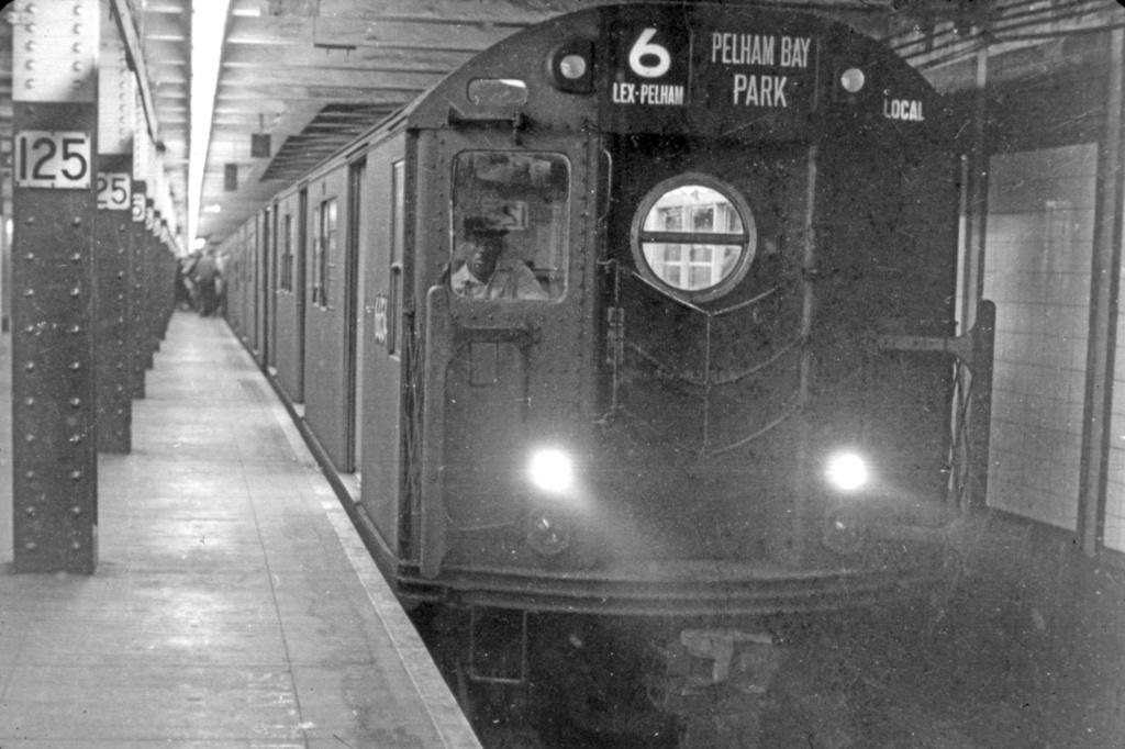 (228k, 1024x682)<br><b>Country:</b> United States<br><b>City:</b> New York<br><b>System:</b> New York City Transit<br><b>Line:</b> IRT East Side Line<br><b>Location:</b> 125th Street <br><b>Route:</b> 6<br><b>Car:</b> R-17 (St. Louis, 1955-56) 6654 <br><b>Collection of:</b> David Pirmann<br><b>Viewed (this week/total):</b> 0 / 6095
