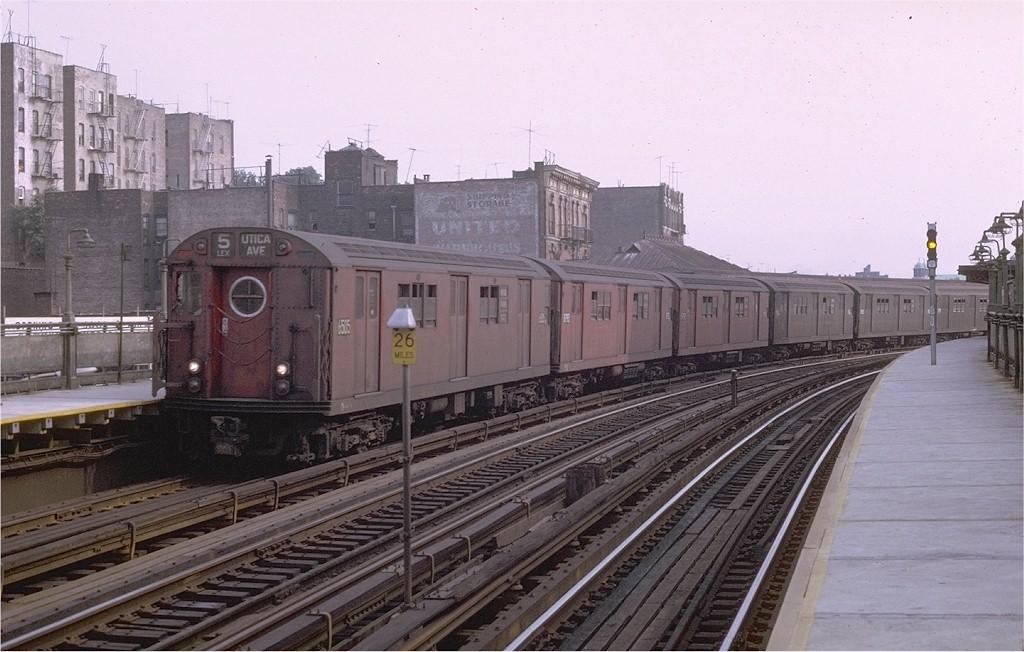 (186k, 1024x652)<br><b>Country:</b> United States<br><b>City:</b> New York<br><b>System:</b> New York City Transit<br><b>Line:</b> IRT White Plains Road Line<br><b>Location:</b> West Farms Sq./East Tremont Ave./177th St. <br><b>Route:</b> 5<br><b>Car:</b> R-17 (St. Louis, 1955-56) 6505 <br><b>Photo by:</b> Joe Testagrose<br><b>Date:</b> 8/19/1969<br><b>Viewed (this week/total):</b> 0 / 3826