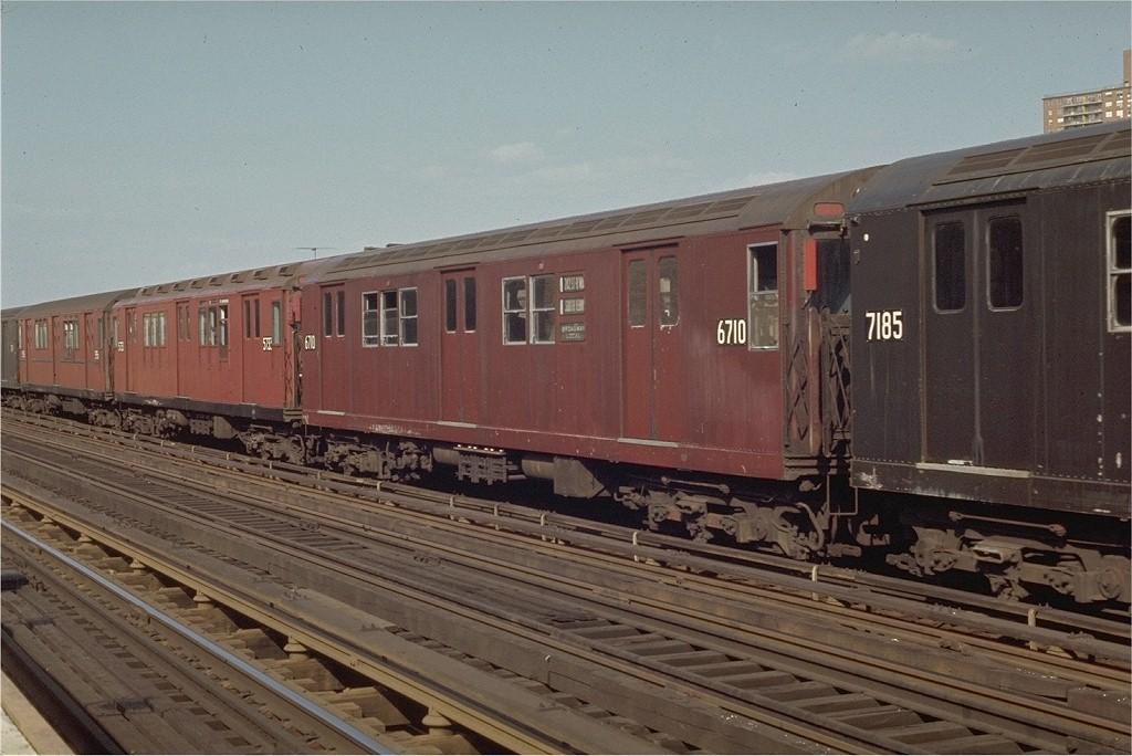 (191k, 1024x684)<br><b>Country:</b> United States<br><b>City:</b> New York<br><b>System:</b> New York City Transit<br><b>Line:</b> IRT West Side Line<br><b>Location:</b> 231st Street <br><b>Route:</b> 1<br><b>Car:</b> R-17 (St. Louis, 1955-56) 6710 <br><b>Photo by:</b> Joe Testagrose<br><b>Date:</b> 4/18/1970<br><b>Viewed (this week/total):</b> 0 / 2846