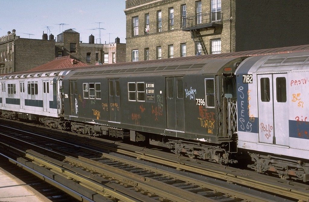 (225k, 1024x668)<br><b>Country:</b> United States<br><b>City:</b> New York<br><b>System:</b> New York City Transit<br><b>Line:</b> IRT West Side Line<br><b>Location:</b> 238th Street <br><b>Route:</b> 1<br><b>Car:</b> R-22 (St. Louis, 1957-58) 7396 <br><b>Photo by:</b> Joe Testagrose<br><b>Date:</b> 6/10/1972<br><b>Viewed (this week/total):</b> 1 / 2791