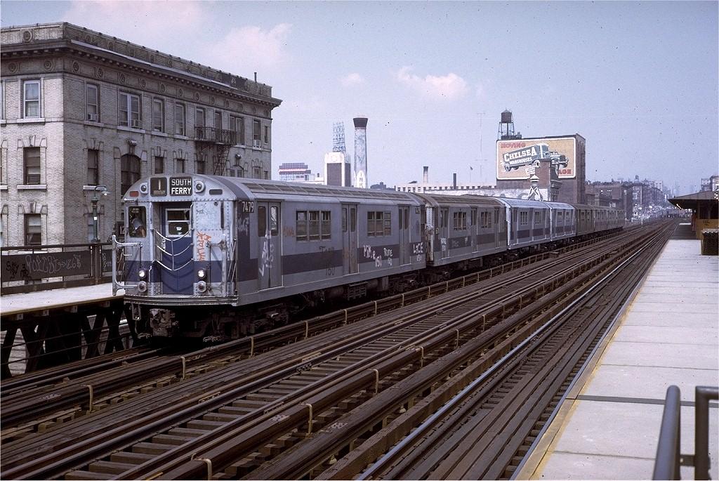 (258k, 1024x685)<br><b>Country:</b> United States<br><b>City:</b> New York<br><b>System:</b> New York City Transit<br><b>Line:</b> IRT West Side Line<br><b>Location:</b> 125th Street <br><b>Route:</b> 1<br><b>Car:</b> R-22 (St. Louis, 1957-58) 7479 <br><b>Collection of:</b> Joe Testagrose<br><b>Date:</b> 8/13/1973<br><b>Viewed (this week/total):</b> 2 / 3555