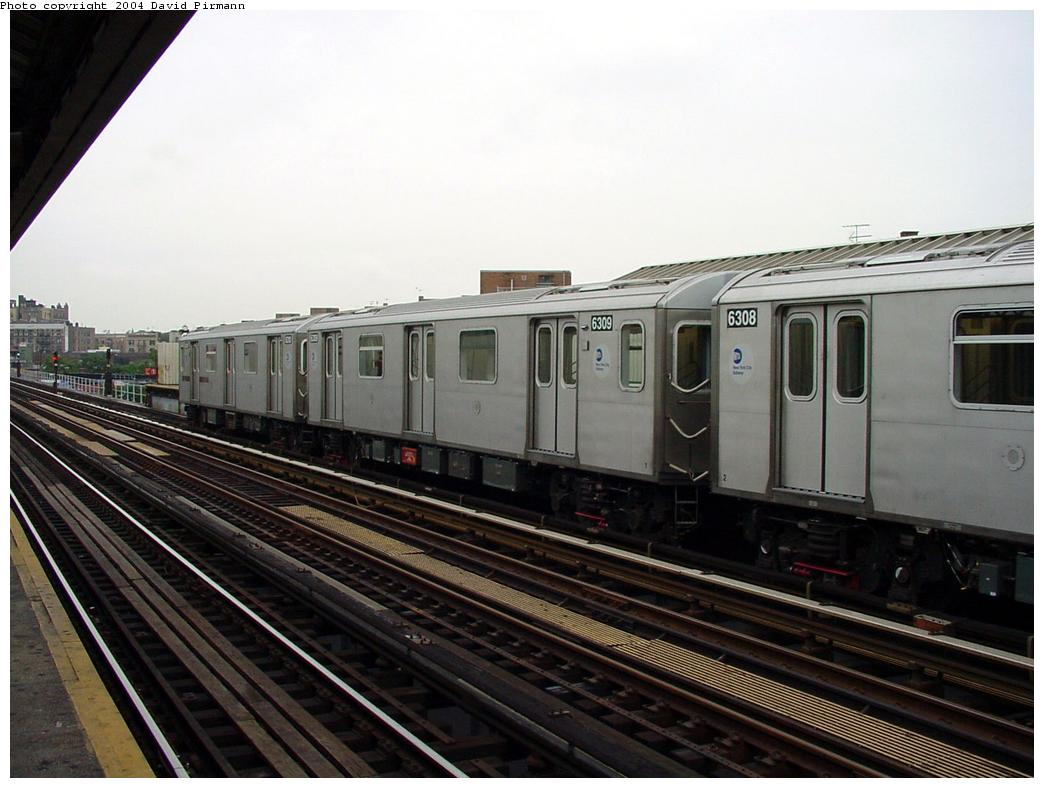 (113k, 1044x788)<br><b>Country:</b> United States<br><b>City:</b> New York<br><b>System:</b> New York City Transit<br><b>Line:</b> IRT White Plains Road Line<br><b>Location:</b> Intervale Avenue <br><b>Route:</b> 2<br><b>Car:</b> R-142 (Primary Order, Bombardier, 1999-2002)  6309 <br><b>Photo by:</b> David Pirmann<br><b>Date:</b> 7/29/2000<br><b>Viewed (this week/total):</b> 0 / 5198