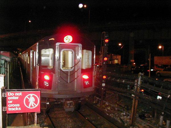 (73k, 600x450)<br><b>Country:</b> United States<br><b>City:</b> New York<br><b>System:</b> New York City Transit<br><b>Line:</b> IRT White Plains Road Line<br><b>Location:</b> East 180th Street <br><b>Route:</b> 2<br><b>Car:</b> R-142 (Primary Order, Bombardier, 1999-2002)  6431 <br><b>Photo by:</b> Trevor Logan<br><b>Date:</b> 6/10/2001<br><b>Viewed (this week/total):</b> 0 / 6505