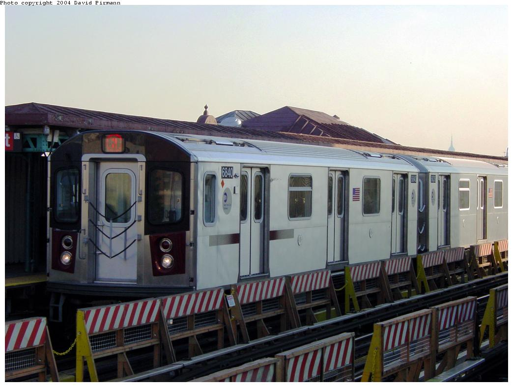(110k, 1044x788)<br><b>Country:</b> United States<br><b>City:</b> New York<br><b>System:</b> New York City Transit<br><b>Line:</b> IRT White Plains Road Line<br><b>Location:</b> Simpson Street <br><b>Route:</b> 2<br><b>Car:</b> R-142 (Primary Order, Bombardier, 1999-2002)  6840 <br><b>Photo by:</b> David Pirmann<br><b>Date:</b> 8/21/2002<br><b>Viewed (this week/total):</b> 3 / 6277