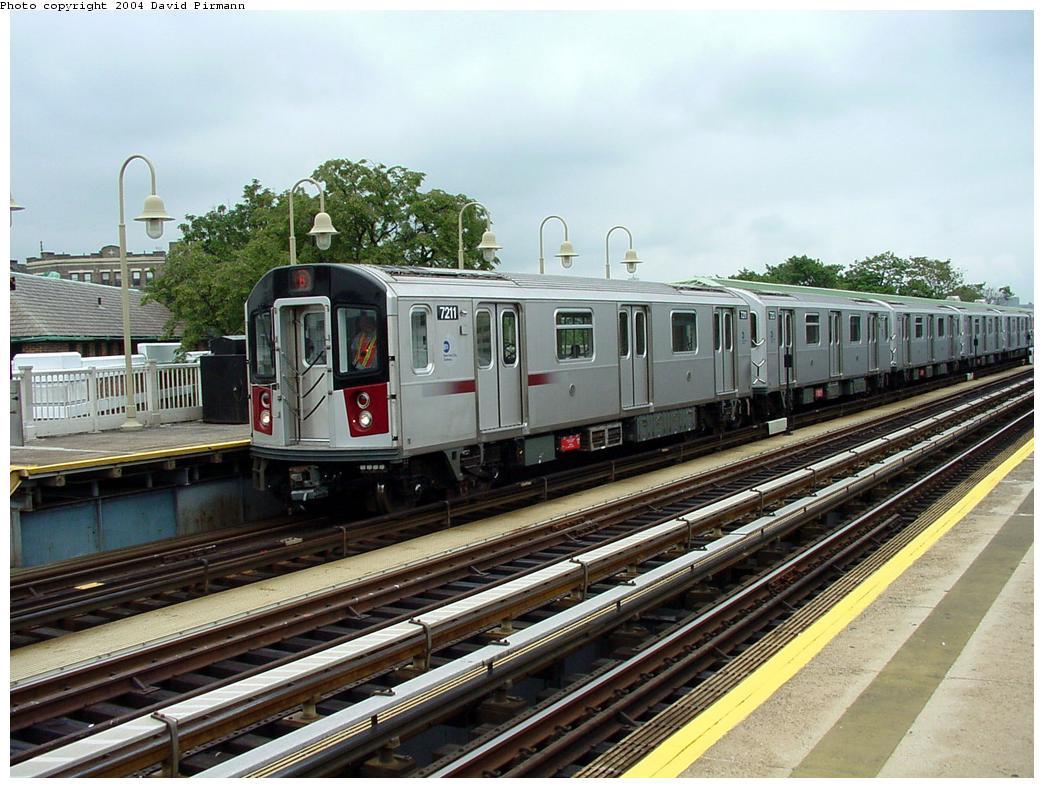 (147k, 1044x788)<br><b>Country:</b> United States<br><b>City:</b> New York<br><b>System:</b> New York City Transit<br><b>Line:</b> IRT Pelham Line<br><b>Location:</b> Westchester Square <br><b>Route:</b> 6<br><b>Car:</b> R-142A (Primary Order, Kawasaki, 1999-2002)  7211 <br><b>Photo by:</b> David Pirmann<br><b>Date:</b> 7/29/2000<br><b>Viewed (this week/total):</b> 4 / 3893