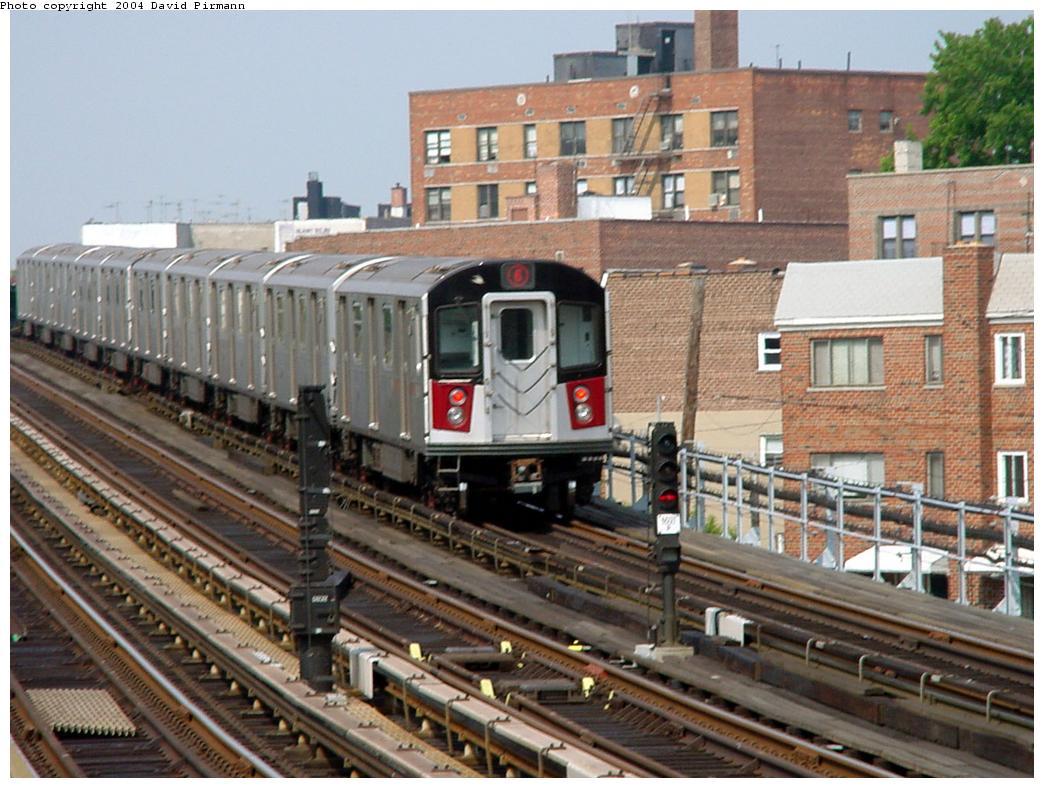 (146k, 1044x788)<br><b>Country:</b> United States<br><b>City:</b> New York<br><b>System:</b> New York City Transit<br><b>Line:</b> IRT Pelham Line<br><b>Location:</b> Middletown Road <br><b>Route:</b> 6<br><b>Car:</b> R-142A (Primary Order, Kawasaki, 1999-2002)  7281 <br><b>Photo by:</b> David Pirmann<br><b>Date:</b> 7/4/2001<br><b>Viewed (this week/total):</b> 2 / 5257