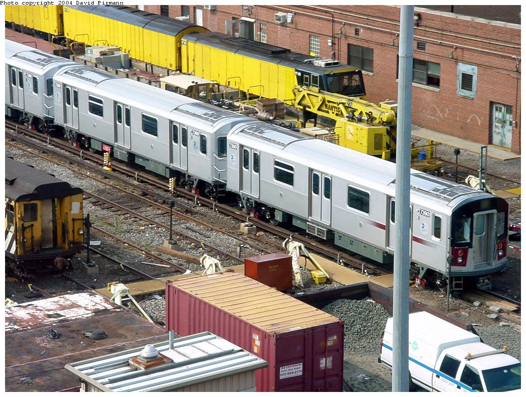 (201k, 1044x788)<br><b>Country:</b> United States<br><b>City:</b> New York<br><b>System:</b> New York City Transit<br><b>Location:</b> Westchester Yard<br><b>Car:</b> R-142A (Primary Order, Kawasaki, 1999-2002)  7390 <br><b>Photo by:</b> David Pirmann<br><b>Date:</b> 7/4/2001<br><b>Viewed (this week/total):</b> 4 / 5213
