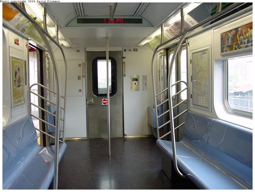 (119k, 1044x788)<br><b>Country:</b> United States<br><b>City:</b> New York<br><b>System:</b> New York City Transit<br><b>Car:</b> R-142A (Primary Order, Kawasaki, 1999-2002)  7211 <br><b>Photo by:</b> David Pirmann<br><b>Date:</b> 7/29/2000<br><b>Notes:</b> Interior showing cab end<br><b>Viewed (this week/total):</b> 0 / 6149
