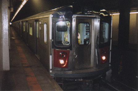 (65k, 447x296)<br><b>Country:</b> United States<br><b>City:</b> New York<br><b>System:</b> New York City Transit<br><b>Line:</b> IRT Dyre Ave. Line<br><b>Location:</b> Pelham Parkway <br><b>Car:</b> R-142 (Primary Order, Bombardier, 1999-2002)  6305 <br><b>Photo by:</b> Tony Mirabella<br><b>Date:</b> 3/2000<br><b>Viewed (this week/total):</b> 4 / 8646