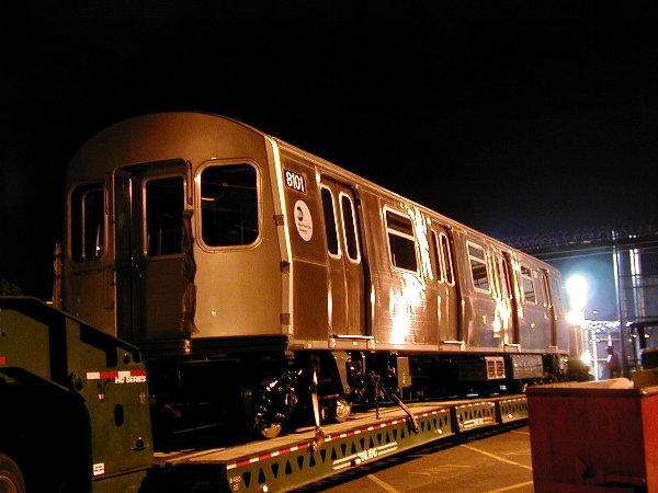 (67k, 600x450)<br><b>Country:</b> United States<br><b>City:</b> New York<br><b>System:</b> New York City Transit<br><b>Location:</b> 207th Street Yard<br><b>Car:</b> R-143 (Kawasaki, 2001-2002) 8101 <br><b>Photo by:</b> Trevor Logan<br><b>Date:</b> 4/30/2001<br><b>Viewed (this week/total):</b> 3 / 4981