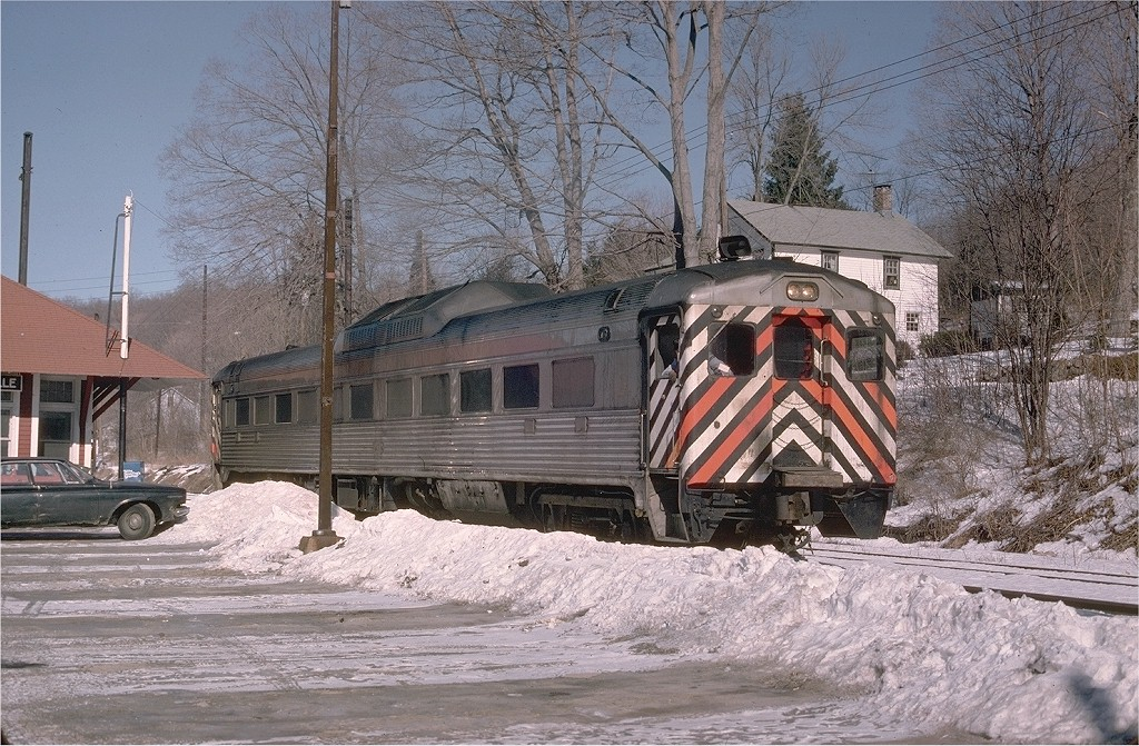 (275k, 1024x671)<br><b>Country:</b> United States<br><b>System:</b> Metro-North Railroad (or Amtrak or Predecessor RR)<br><b>Line:</b> Metro-North Danbury Branch<br><b>Location:</b> Branchville <br><b>Car:</b> RDC  47 <br><b>Photo by:</b> Steve Zabel<br><b>Collection of:</b> Joe Testagrose<br><b>Date:</b> 2/4/1978<br><b>Viewed (this week/total):</b> 1 / 1254