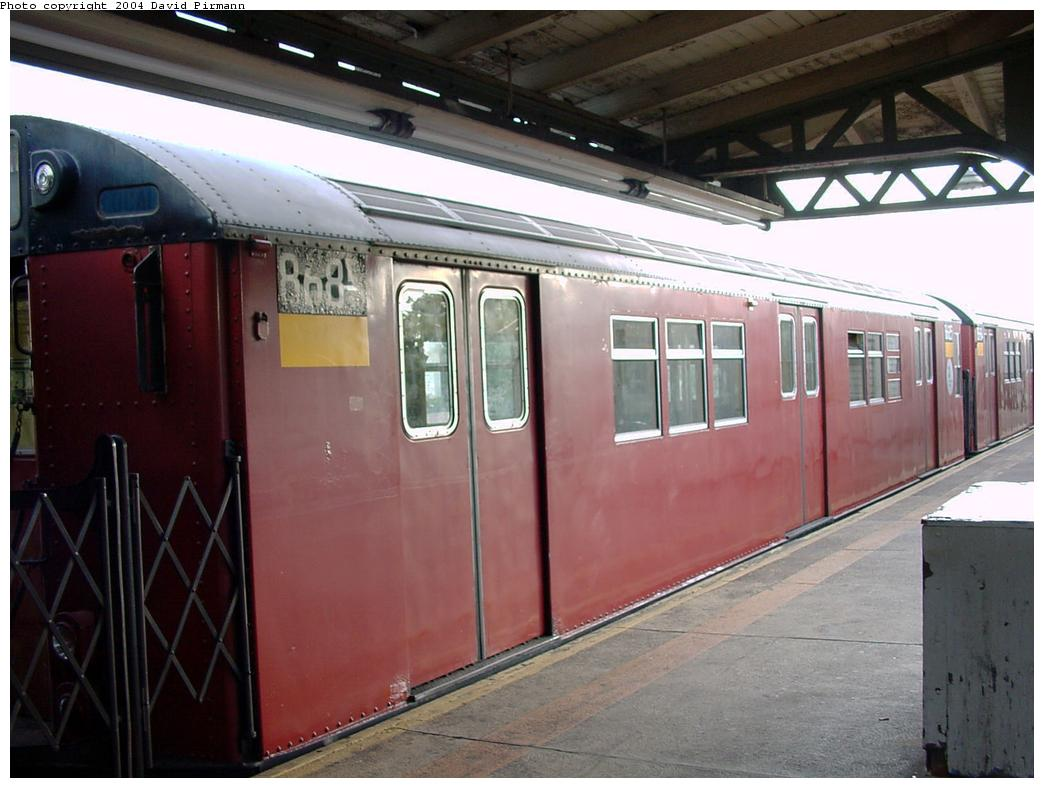 (112k, 1044x788)<br><b>Country:</b> United States<br><b>City:</b> New York<br><b>System:</b> New York City Transit<br><b>Line:</b> IRT Pelham Line<br><b>Location:</b> East 177th Street/Parkchester <br><b>Route:</b> 6<br><b>Car:</b> R-29 (St. Louis, 1962) 8685 <br><b>Photo by:</b> David Pirmann<br><b>Date:</b> 7/11/2000<br><b>Viewed (this week/total):</b> 3 / 3778