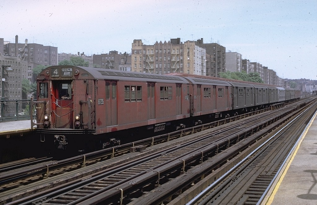 (217k, 1024x665)<br><b>Country:</b> United States<br><b>City:</b> New York<br><b>System:</b> New York City Transit<br><b>Line:</b> IRT Woodlawn Line<br><b>Location:</b> Mt. Eden Avenue <br><b>Route:</b> 4<br><b>Car:</b> R-29 (St. Louis, 1962) 8735 <br><b>Photo by:</b> Joe Testagrose<br><b>Date:</b> 6/5/1971<br><b>Viewed (this week/total):</b> 2 / 4369