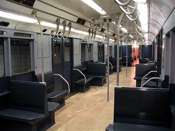 (70k, 600x450)<br><b>Country:</b> United States<br><b>City:</b> New York<br><b>System:</b> New York City Transit<br><b>Location:</b> New York Transit Museum<br><b>Car:</b> R-10 (American Car & Foundry, 1948) 3184 <br><b>Photo by:</b> Trevor Logan<br><b>Date:</b> 5/16/2004<br><b>Viewed (this week/total):</b> 15 / 23914