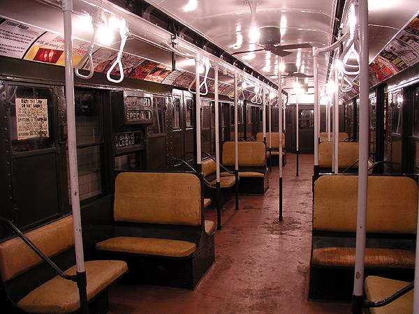 (76k, 600x450)<br><b>Country:</b> United States<br><b>City:</b> New York<br><b>System:</b> New York City Transit<br><b>Location:</b> New York Transit Museum<br><b>Car:</b> R-9 (Pressed Steel, 1940)  1802 <br><b>Photo by:</b> Trevor Logan<br><b>Date:</b> 5/16/2004<br><b>Viewed (this week/total):</b> 1 / 12585