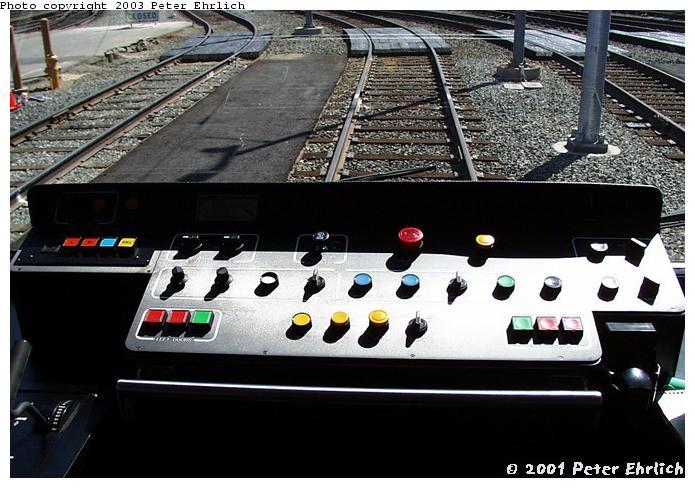 (73k, 695x488)<br><b>Country:</b> United States<br><b>City:</b> San Jose, CA<br><b>System:</b> Santa Clara VTA<br><b>Line:</b> VTA 1st St/Downtown/St. Teresa<br><b>Location:</b> VTA Shops/Yard <br><b>Car:</b> VTA Kinki-Sharyo 901 <br><b>Photo by:</b> Peter Ehrlich<br><b>Date:</b> 8/2/2001<br><b>Viewed (this week/total):</b> 0 / 1735