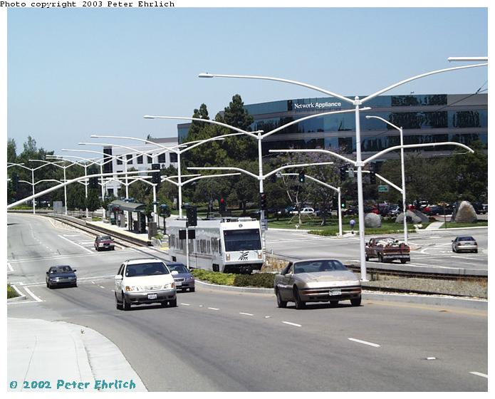 (70k, 695x560)<br><b>Country:</b> United States<br><b>City:</b> San Jose, CA<br><b>System:</b> Santa Clara VTA<br><b>Line:</b> VTA Tasman West/Mountain View<br><b>Location:</b> Crossman <br><b>Car:</b> VTA Kinki-Sharyo 918 <br><b>Photo by:</b> Peter Ehrlich<br><b>Date:</b> 7/16/2002<br><b>Viewed (this week/total):</b> 0 / 2467