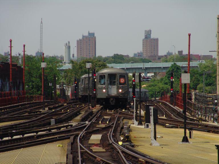 (75k, 768x576)<br><b>Country:</b> United States<br><b>City:</b> New York<br><b>System:</b> New York City Transit<br><b>Location:</b> Coney Island/Stillwell Avenue<br><b>Route:</b> D<br><b>Car:</b> R-68/R-68A Series (Number Unknown)  <br><b>Photo by:</b> Richard Panse<br><b>Date:</b> 5/23/2004<br><b>Viewed (this week/total):</b> 0 / 5854