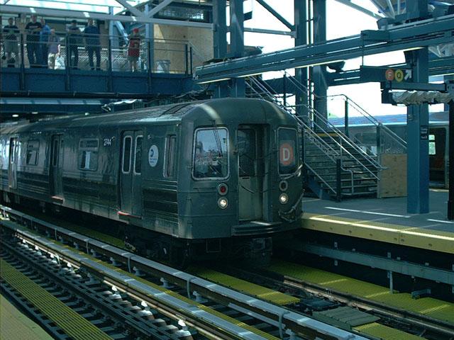 (114k, 640x480)<br><b>Country:</b> United States<br><b>City:</b> New York<br><b>System:</b> New York City Transit<br><b>Location:</b> Coney Island/Stillwell Avenue<br><b>Route:</b> D<br><b>Car:</b> R-68 (Westinghouse-Amrail, 1986-1988)  2744 <br><b>Photo by:</b> Tony Mirabella<br><b>Date:</b> 5/23/2004<br><b>Viewed (this week/total):</b> 4 / 4919