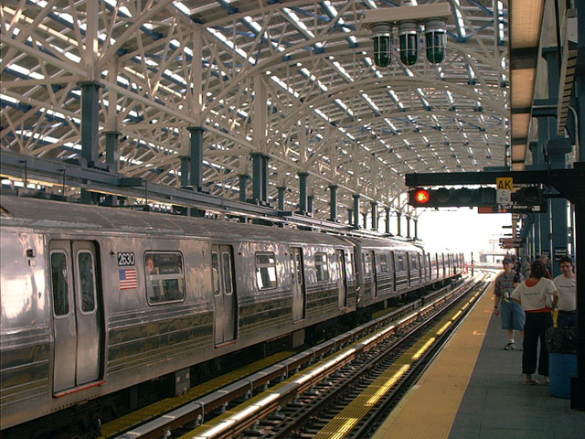 (133k, 640x480)<br><b>Country:</b> United States<br><b>City:</b> New York<br><b>System:</b> New York City Transit<br><b>Location:</b> Coney Island/Stillwell Avenue<br><b>Route:</b> D<br><b>Car:</b> R-68 (Westinghouse-Amrail, 1986-1988)  2630 <br><b>Photo by:</b> Tony Mirabella<br><b>Date:</b> 5/23/2004<br><b>Viewed (this week/total):</b> 0 / 4588