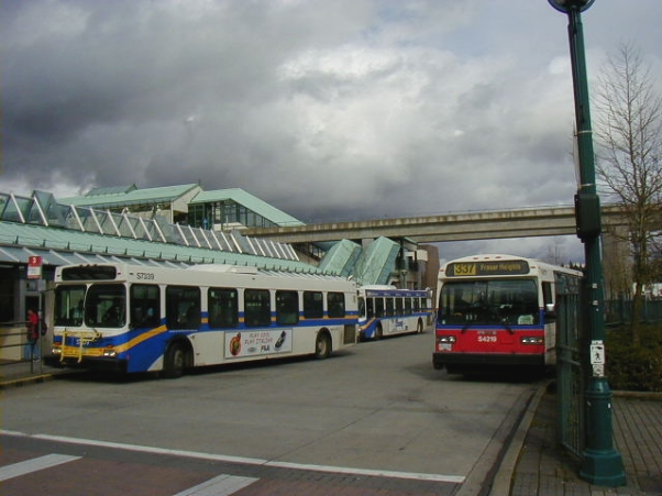 (171k, 602x451)<br><b>Country:</b> Canada<br><b>City:</b> Vancouver<br><b>System:</b> SkyTrain<br><b>Line:</b> Expo Line<br><b>Location:</b> Surrey Central<br><b>Photo by:</b> Adam J. Benjamin<br><b>Date:</b> 4/17/2002<br><b>Notes:</b> Bus exchange and station<br><b>Viewed (this week/total):</b> 0 / 2596