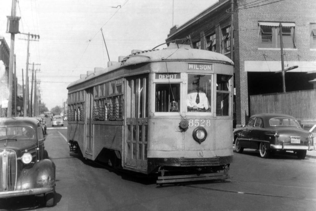 (207k, 1024x683)<br><b>Country:</b> United States<br><b>City:</b> New York<br><b>System:</b> Brooklyn & Queens Transit<br><b>Location:</b> Rockaway & Hegeman<br><b>Route:</b> Wilson<br><b>Car:</b> B&QT/BMT 8528 <br><b>Collection of:</b> David Pirmann<br><b>Viewed (this week/total):</b> 2 / 1655