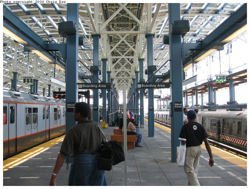 (105k, 820x620)<br><b>Country:</b> United States<br><b>City:</b> New York<br><b>System:</b> New York City Transit<br><b>Location:</b> Coney Island/Stillwell Avenue<br><b>Photo by:</b> Chris Der<br><b>Date:</b> 5/23/2004<br><b>Viewed (this week/total):</b> 1 / 1991