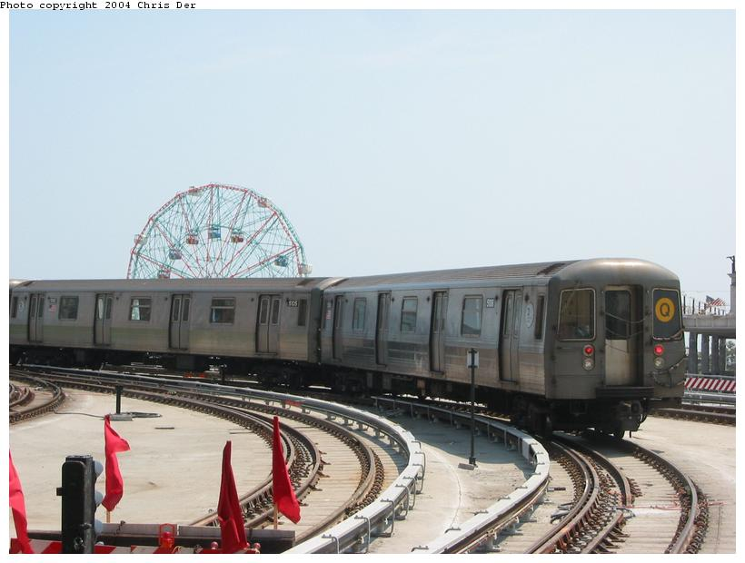 (63k, 820x620)<br><b>Country:</b> United States<br><b>City:</b> New York<br><b>System:</b> New York City Transit<br><b>Location:</b> Coney Island/Stillwell Avenue<br><b>Route:</b> Q<br><b>Car:</b> R-68A (Kawasaki, 1988-1989)  5106 <br><b>Photo by:</b> Chris Der<br><b>Date:</b> 5/23/2004<br><b>Viewed (this week/total):</b> 0 / 4173