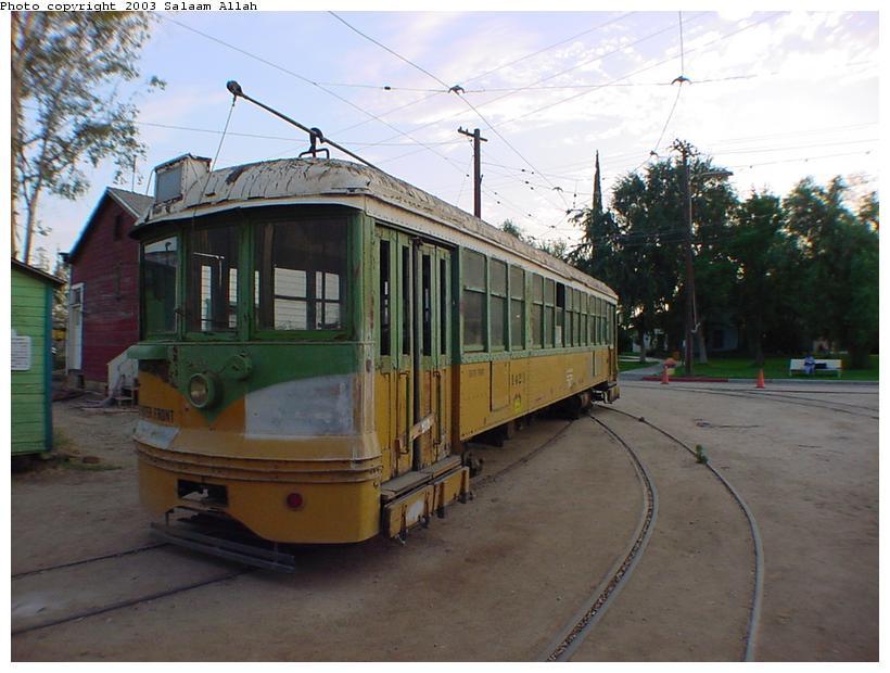 (77k, 820x620)<br><b>Country:</b> United States<br><b>City:</b> Perris, CA<br><b>System:</b> Orange Empire Railway Museum <br><b>Car:</b>  1423 <br><b>Photo by:</b> Salaam Allah<br><b>Date:</b> 7/27/2003<br><b>Viewed (this week/total):</b> 0 / 2155