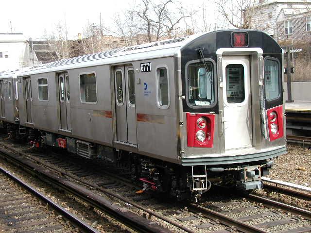 (67k, 640x480)<br><b>Country:</b> United States<br><b>City:</b> New York<br><b>System:</b> New York City Transit<br><b>Line:</b> IRT Dyre Ave. Line<br><b>Location:</b> Gun Hill Road <br><b>Car:</b> R-142 (Primary Order, Bombardier, 1999-2002)  6771 <br><b>Photo by:</b> Carlton Walton<br><b>Date:</b> 2/2002<br><b>Viewed (this week/total):</b> 1 / 5190