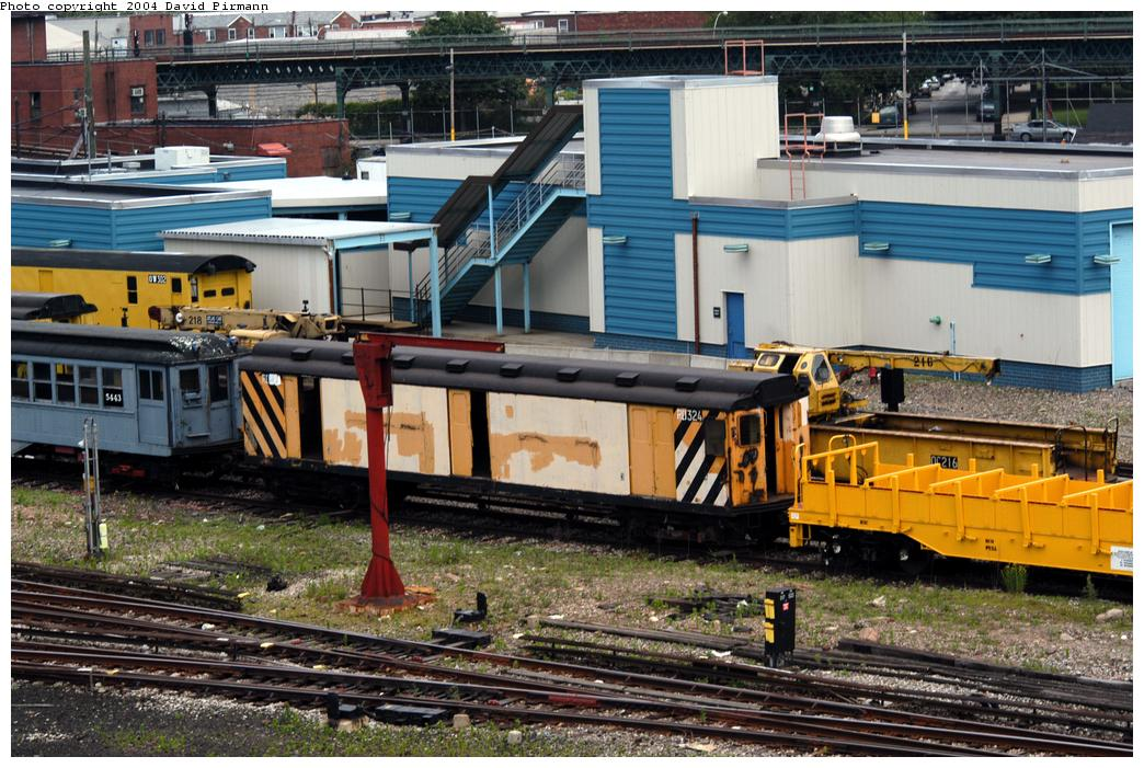 (205k, 1044x701)<br><b>Country:</b> United States<br><b>City:</b> New York<br><b>System:</b> New York City Transit<br><b>Location:</b> Coney Island Yard-Museum Yard<br><b>Car:</b> R-71 Rider Car (R-17/R-21/R-22 Rebuilds)  RD324 (ex-5812)<br><b>Photo by:</b> David Pirmann<br><b>Date:</b> 6/13/2004<br><b>Viewed (this week/total):</b> 1 / 5890