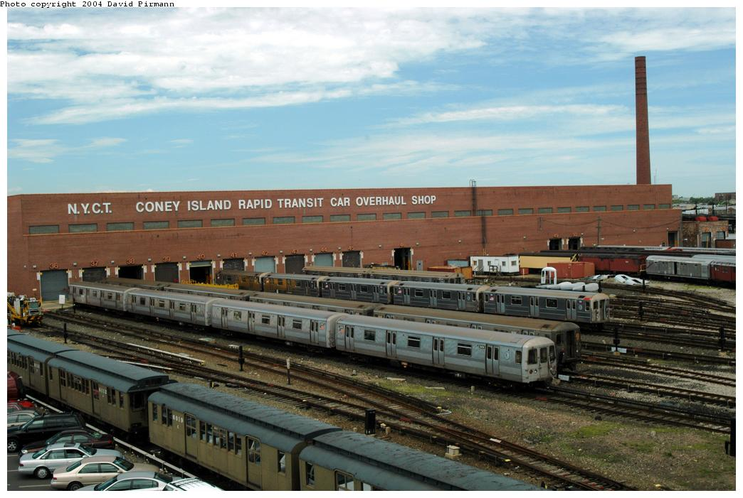 (160k, 1044x701)<br><b>Country:</b> United States<br><b>City:</b> New York<br><b>System:</b> New York City Transit<br><b>Location:</b> Coney Island Yard<br><b>Photo by:</b> David Pirmann<br><b>Date:</b> 6/13/2004<br><b>Viewed (this week/total):</b> 0 / 3362