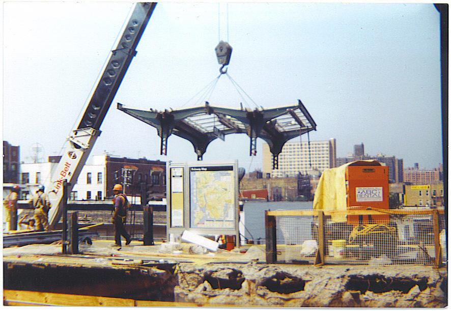 (145k, 886x611)<br><b>Country:</b> United States<br><b>City:</b> New York<br><b>System:</b> New York City Transit<br><b>Location:</b> Coney Island/Stillwell Avenue<br><b>Photo by:</b> Michael Hodurski<br><b>Date:</b> 7/2005<br><b>Notes:</b> Demolition of the last remaining unrenovated platform at Stillwell Ave.<br><b>Viewed (this week/total):</b> 0 / 2591