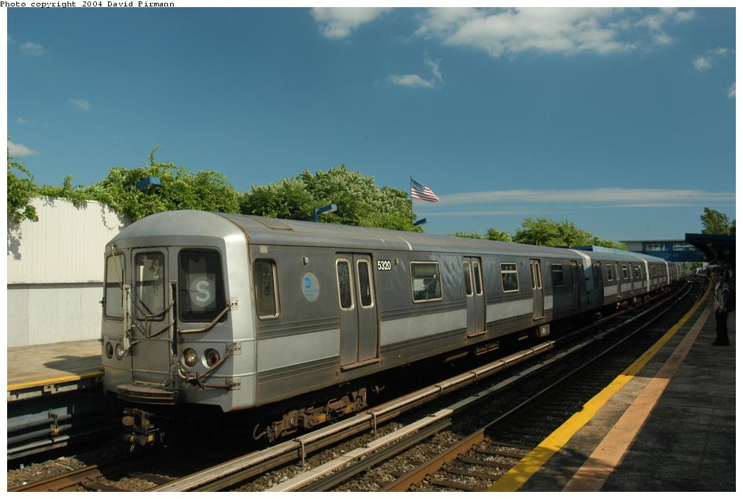(145k, 1044x701)<br><b>Country:</b> United States<br><b>City:</b> New York<br><b>System:</b> New York City Transit<br><b>Line:</b> IND Rockaway<br><b>Location:</b> Broad Channel <br><b>Route:</b> S<br><b>Car:</b> R-44 (St. Louis, 1971-73) 5320 <br><b>Photo by:</b> David Pirmann<br><b>Date:</b> 6/19/2004<br><b>Viewed (this week/total):</b> 2 / 3410
